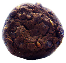 Double Chocolate Chip Walnut Cookies 6 Large 4 inch by 1/2 thick