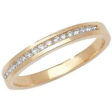 Ringe im Eternity-Stil aus Gelbgold mit Diamanten