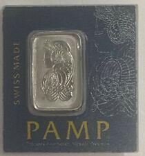1 GRAM  PAMP SUISSE PURE  PLATINUM  BAR 999.5 PT PURE MINT SEALED BRAND NEW