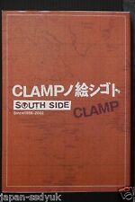Japan CLAMP Art Works SOUTH SIDE Since 1989-2002 artbook OOP