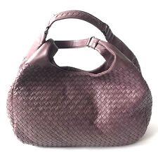 Bottega Veneta Lilac Intrecciato Woven Nappa Leather Medium Campana