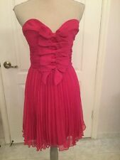 La Coquette By Mandalay Pink Strapless Cocktail Dress Size 10