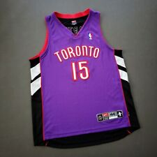 100% Authentic Vince Carter Vintage Nike Raptors Jersey 44 L - drake dell curry
