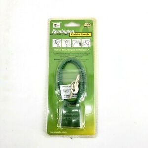 Remington Firearm Cable Lock Safety Device