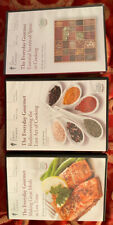 3 DVD Great Courses Everyday Gourmet Rediscovering Lost Art Cooking Spices Meals