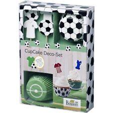 Birkmann CupCake Deko Set FUSSBALL Kick it Muffinförmchen Muffinform Fußball NEU