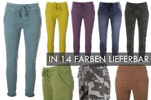 BASIC.de Cotton Stretch-Hose Jogging-Pant Style Square Pocket Pant MELLY & CO 81