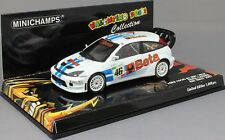 Minichamps Ford Focus RS WRC Valentino Rossi Monza Rally Show 2007 400078446 NEW