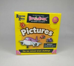 BrainBox Preschool My First Pictures University Games Ages 4+ 1 Or More Players