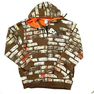 Pepe Jeans London Mens Brick Graffiti Embroidered Hoodie NWT Size 4XL
