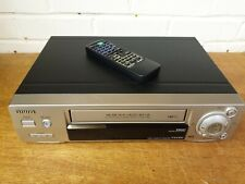 AIWA FX5100K VHS VIDEO CASSETTE RECORDER PLAYER Vintage Tested VGC PAL & NTSC