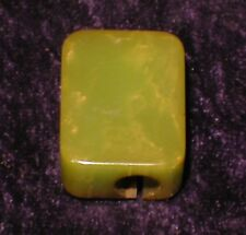Vintage Green Bakelite Pencil Sharpener - Nice