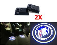 2 x Buick Car Door Welcome LED Lights Courtesy Projector Ghost Shadow Sticker