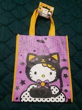 Hello Kitty Halloween Black Cat Treat Candy Bag Tote CVS Exclusive 2019 NWT