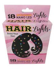 18 LED Hair Lights Fun Novelty Hen Night Festive Secret Santa Party Xmas Gift