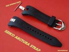 SEIKO ARCTURA KINETIC RUBBER BAND STRAP 5M54-0AB0 SRN013P1 SRN011P1 5M54-0AC0