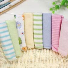8Pcs/Set Soft Baby Newborn Bath Washcloth Children Towels For Bathing Feeding TM