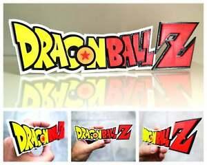 Dragon Ball Z 3D logo / shelf display / fridge magnet - gaming collectible