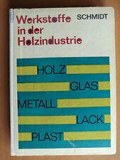 DDR Buch Werkstoffe Holz-Industrie Eigenschaften Fehler Furniere Verbundplatten