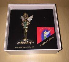 Arribas Brothers Disney Jeweled Tinkerbell Ltd. Ed. w/ Base and Sign MIB COA