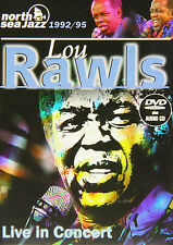Lou Rawls Live In Concert North Sea Jazz Festival 1992/1995 DVD+CD NEW SEALED