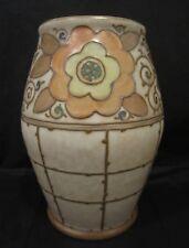 Bursley Ware Charlotte Rhead Vase TL3 Trellis Pattern