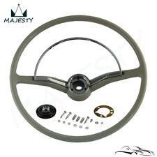 Steering wheel chrome ring & button For VW Volkswagen Beetle 1955-1965