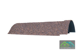 Granulated Lightweight Plastic Ridge Roof Tile Roofing for Conservatory Outbuild