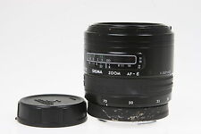 Sigma Zoom 3,5-4,5/28-70mm mit Yashica AF Bajonet