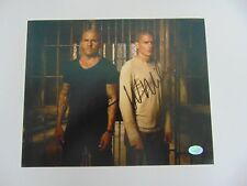 """Prison Break"" Wentworth Miller Dominic Purcell Signed 8X10 Authenticated"