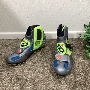 Sidi Cycling Shoe Boots Made With Kevlar Vintage Womens Size 38 Vintage