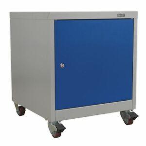 Sealey API5659 Mobile Industrial Cabinet 1 Shelf Locker