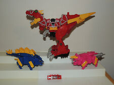 Lot Power Rangers Dino Super Charge Red Deluxe Megazord With Charger!