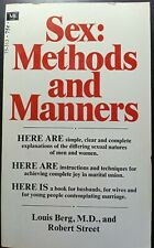SEX METHODS AND MANNERS. LOUIS BERG. 1970 6th Printing Macfadden& Barrell Books