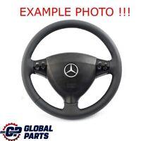 Mercedes-Benz Classe-A W169 Neuf Cuir Noir Volant Avec Noir Fils
