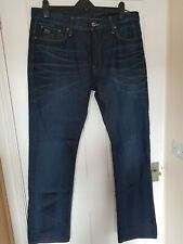 MEN'S G STAR RAW 3301 BUTTON FLY  JEANS SIZE 38W 34L EXCELLENT CONDITION