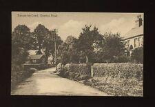 Wales Denbighshire BANGOR-ISYCOED Overton Rd c1920/30s? PPC