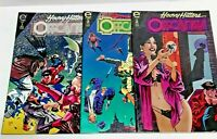 Epic Comics Heavy Hitters Offcastes Complete Set of 3 Comic Mini Series 1993