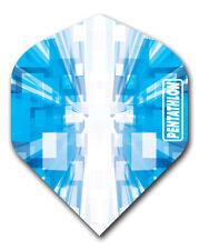1 Set (3 Flights)  - BLUE Pentathlon Standard Dart Flights Ex-Tough T0169