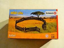 SCHLEICH 42304 - Safari Gatter Wild Life NEU OVP 10 Teile