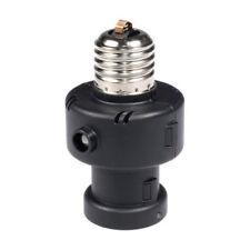 Maclean Portalámparas sensor crepuscular 100W bombilla E27 detector temporizador