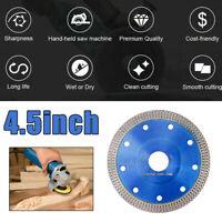 Grinder wheel 4.5 Inch Cuts Porcelain Tile Turbo Diamond Dry Cutting blade/Disc