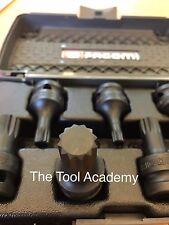 FACOM NSV.J7 7 Pce 1/2 Drive SPLINE BIT SOCKET SET M6 - M18 SUPPLIED IN CASE