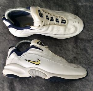 Nike crosstraining Ladies white Leather trainers size 4