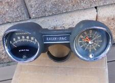 OEM Ford 6,000 RPM Rally Pac Tachometer Clock 1960's Mustang Bronco Cougar SWEET