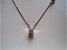 Collana Punto Luce oro Bianco 18kt Diamante PL+P005 PG Gioielli