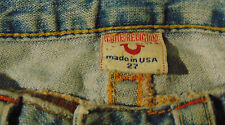 True Religion #503 Women's Distressed Flare  jeans 27