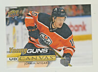 2019-20 Upper Deck Young Guns CANVAS #C114 JOAKIM NYGARD RC Rookie