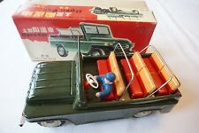 Friction Early Chinese Open Car Jeep Tin Toy Boxed