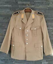 Bundeswehr Uniformjacke Tropen Gr.50 Bw Uniform khaki BW Tropenjacke Sakko neu